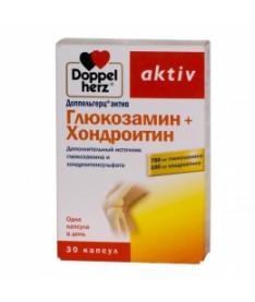 Доппельгерц Актив глюкозамин + хондроитин капсулы 30