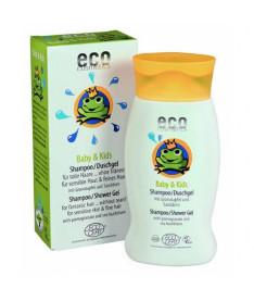 Eco cosmetics Детский шампунь/гель для душа с экстрактом граната и облепихой, 200 мл