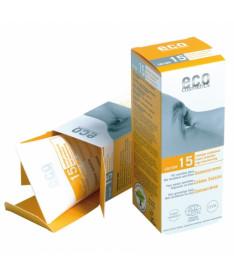 Eco cosmetics Солнцезащитный крем SPF 15 с экстрактом граната и облепихи, 75 мл