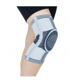 Эластичный бандаж коленного сустава усиленный Active Doctor Life A7-049