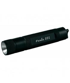 Fenix E01 черный  (10 лм, 1хААА) Фонарик