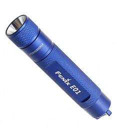 Fenix E01 синий (10 лм, 1хААА) Фонарик