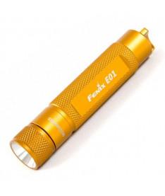 Fenix E01 желтый (10 лм, 1хААА) Фонарик
