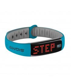 Фитнес-браслет Sigma Sport Activo Blue/Gray