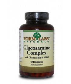 FORM LABS Naturals  Glucosamine&ampChondroitin&ampMSM 120 caps