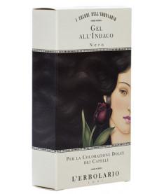 Гель для волос красящий L'Erbolario Черный