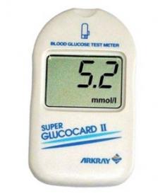 Глюкометр Super Glucocard II + 50 тест полосок + 50 ланцетов (Япония)