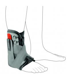 Голеностопный бандаж на шнуровке усиленный Ottobock Malleo Sprint