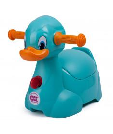 Горшок детский OK Beby Quack бирюзовый
