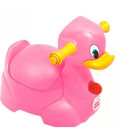 Горшок детский OK Beby Quack розовый
