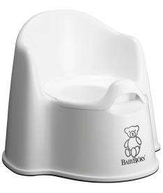 Горшок-кресло Baby Bjorn Potty Chair white