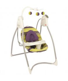 Graco  LOVIN HUG Blackberry Spring,цвет салатовый с фиолетовым Кресло-качалка