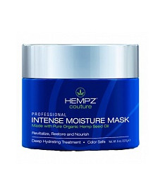 Hempz Intense Moisture Mask Интенсивно увлажняющая маска + гребешок