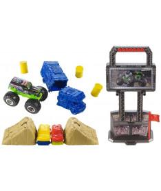 Hot Wheels Игровой набор Арена для трюков серии Monster Jam