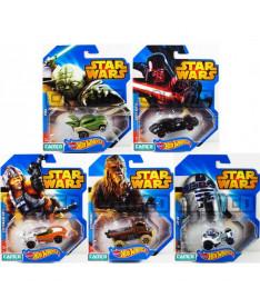 Hot Wheels Машинки-герои серии Star Wars
