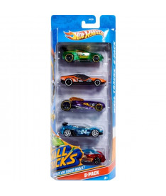 HOT WHEELS Подарочный набор автомобилей 1806 (5 шт.)