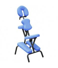 HouseFit HY-1002  Массажный стул с сумкой синий