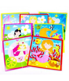 Игровой набор пазлов для ванной Принцессы Meadow Kids (MK 314)