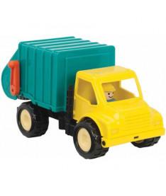 Игрушка из серии &quotПервые машинки&quot Battat Lite Мусоровоз с фигуркой водителя (BT2452Z)