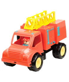 Игрушка из серии &quotПервые машинки&quot Battat Lite Пожарная машина с фигуркой водителя (BT2451Z)