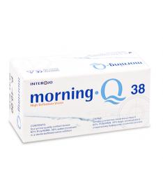 Interojo Morning Q 38  (уп. 4 шт), PolyHEMA 38%, r 8.6, d14.0, t 0.07, Dk/t 17