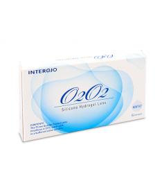 Interojo O2O2 (уп. 6 шт), силикон-гидрогель innofilcon A 45%, r 8.6, d14.2, t 0.06, Dk/t 100