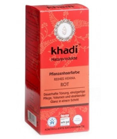 Khadi Reines Henna Кхади Чистая Хна Органическая краска для волос Красный 100 г