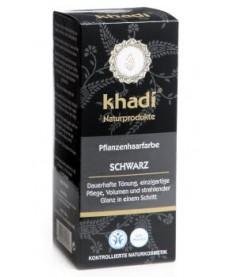Khadi SCHWARZ Кхади Органическая  краска для волос Черный 100 г