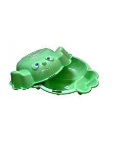 KHW Kunststoff Краб Песочница двойная зеленая
