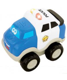 KiddielandPreschool Инерционная игрушка серии &quotПервые машинки&quot ПОЛИЦИЯ (свет,звук)