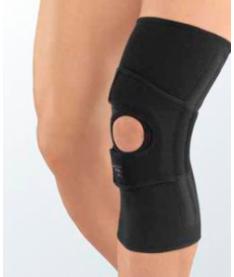 Коленный бандаж с пателлярной поддержкой protect.PT soft