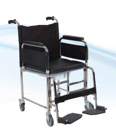 Коляска инвалидная комнатная с санитарным оснащением Heaco Golfi-5