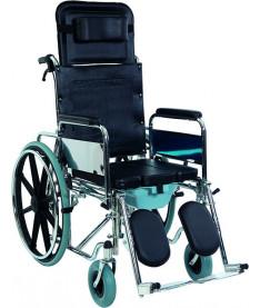 Коляска инвалидная многофункциональная с санитарным оснащением Heaco Golfi-4