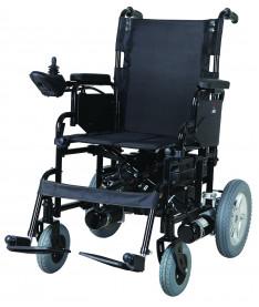 Коляска инвалидная с двигателем складная Heaco JT-100