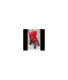 Коляска-трость Bambini STILUS c чехлом red strawberry