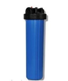 Корпуса фильтров типа Big Blue со стаканами голубого цвета Aquafilter FH20B64_L