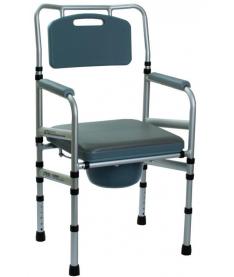 Кресло-туалет с мягкой крышкой для сидения OSD-LY901