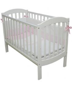 Кроватка детская Верес Соня ЛД10 белый без колес на ножках