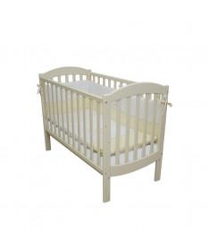 Кроватка детская Верес Соня ЛД10 без колес на ножках слоновая кость