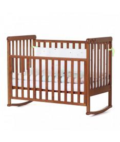 Кроватка детская Верес Соня ЛД12 без колес на ножках, съемная качалка, ольха