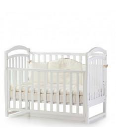 Кроватка детская Верес Соня ЛД6 без колес на ножках, белый