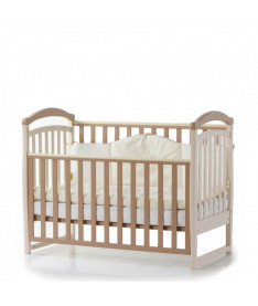 Кроватка детская Верес Соня ЛД6 без колес на ножках, капучино