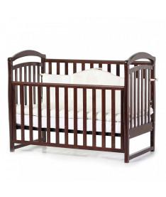 Кроватка детская Верес Соня ЛД6 без колес на ножках, орех