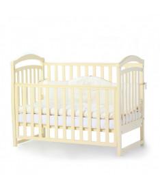 Кроватка детская Верес Соня ЛД6 без колес на ножках, слоновая кость