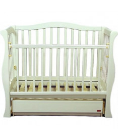 Кроватка-диван VIVA с ящиком (слоновая кость)