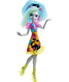 Кукла Monster High Електромодница Дракулаура, Ари Хантингтон, Силви Тимбервульф: Под напряжением
