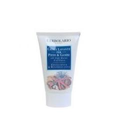 L`Erbolario Crema Lavante Piedi E Gambe Моющий крем для ног с морскими водорослями 125 мл