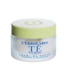 L'erbolario Te Verde Crema Ночной крем для лица Зеленый чай 50 мл