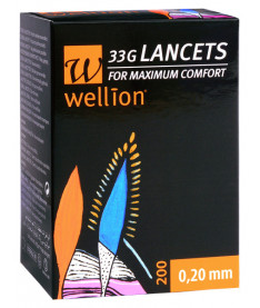 Ланцеты Wellion 33G (50 шт.)