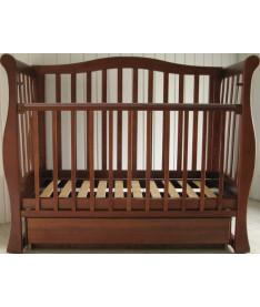 Laska-M  VIVA с ящ. (орех) Кроватка-диван